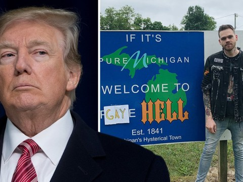 Elijah Daniel buys Michigan town and renames it Gay Hell after Trump's embassy ban on pride flags