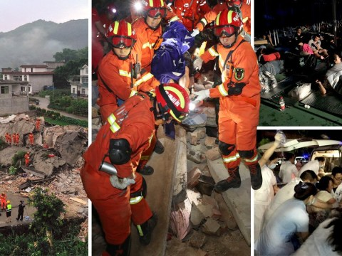 Double earthquake leaves at least 12 dead in China