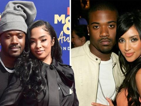 Ray J's wife is not impressed as MTV Awards host cracks joke about Kim Kardashian sex tape