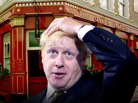 Remember when Prime Minister hopeful Boris Johnson was in EastEnders?