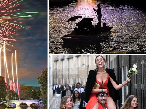 Cambridge students celebrate end of exams with fireworks at £345-a-ticket ball