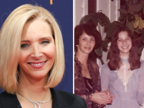 Friends star Lisa Kudrow shows off brown hair in adorable throwback and we're shook