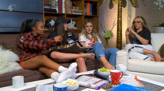 Little Mix on Celebrity Gogglebox