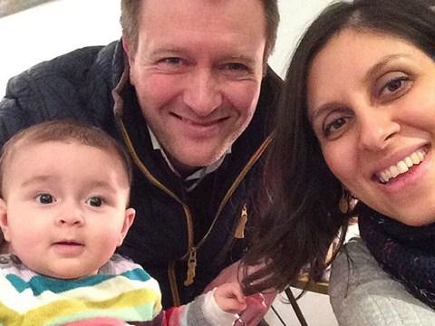 Nazanin Zaghari-Ratcliffe and husband Richard both stage hunger strike