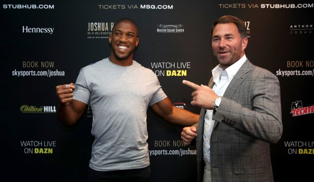 Eddie Hearn responds to Andy Ruiz Jr. over dig at Anthony Joshua