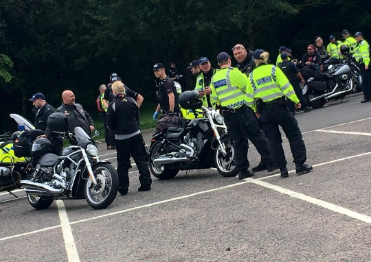 More than 30 arrested at Hells Angels UK anniversary event   Metro News