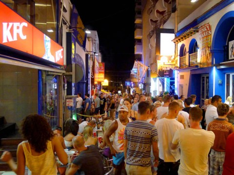 British man 'raped outside KFC in Ibiza'