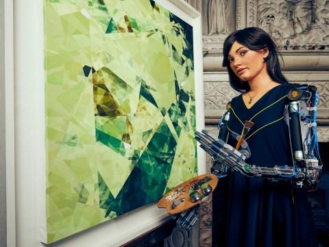 Robot set to unveil its own art exhibition