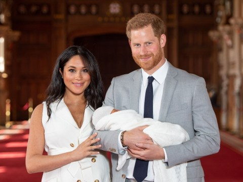 Who are Prince Harry and Meghan Markle's choice of godparents for baby Archie?