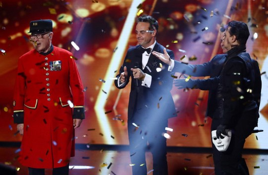 Britain's Got Talent Colin Thackery winning the show
