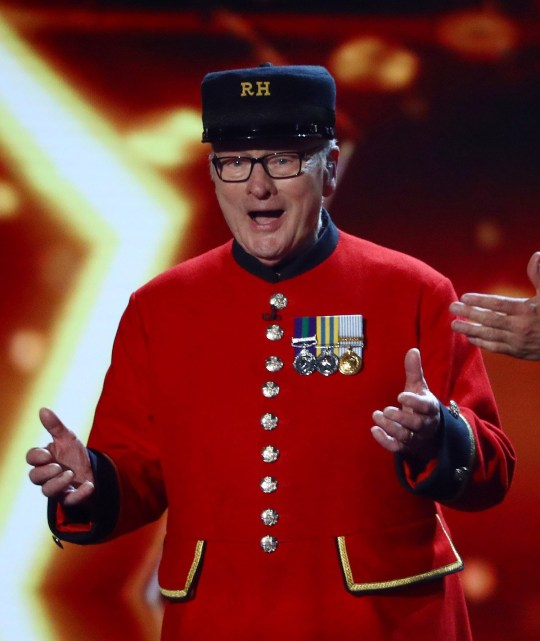 Editorial Use Only. No Book Publishing. Mandatory Credit: Photo by Dymond/Thames/Syco/REX (10266524mm) Colin Thackery is announced the winner of Britain's Got Talent 2019 'Britain's Got Talent' TV Show, Series 13, Episode 14, The Final, London, UK - 02 Jun 2019
