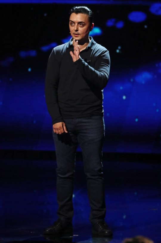 Editorial use only. No book publishing Mandatory Credit: Photo by Dymond/Thames/Syco/REX/Shutterstock (9696726hc) Marc Spelmann 'Britain's Got Talent' TV show, Series 12, Episode 10, London, UK - 30 May 2018
