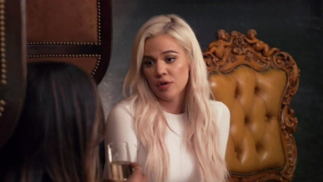 """BGUK_1610650 - ** RIGHTS: WORLDWIDE EXCEPT IN UNITED STATES ** Los Angeles, CA - Khloe Kardashian reveals if she still loves Tristan Thompson on Keeping Up With The Kardashians. Khloe's best pal Mailka Haaq joined her on a visit to Cleveland and the Dash Dolls alum got Khloe to open up about her rocky relationship with Thompson. After Kim Kardashian told Malika all about Khloe's psychic reading with a Bali-based medium, Haqq decided it was time to check in with her BFF. """"Khloe has always been really good at a brave face, but it's also really important for me to know what's going on with her on the inside,"""" Malika noted in a confessional. """"I will be the person that she can open up to???even if she tells me to shut up, been there before."""" Even though Khloe told Haqq that 'everything's fine,' Malika decided to address the topic once more. Instead of tiptoeing around the issue, Malika decided to ask Khloe point blank if she was happy. """"Do you know that they say: 'Check in on your strong friend!'"""" Haqq relayed to the mother of one. """"You're happy, right? You and Tristan are okay?"""" Understandably, this line of questioning had Khloe on the defensive, noting that daughter True Thompson was her main priority. While Khloe acknowledged that 'it's really hard to regain trust' she refused to let the relationship drama affect her maternal responsibilities. """"Are you still in love?"""" Malika further pressed. """"I am in love. I know I love him,"""" Khloe admitted. """"But, still I'm not gonna act like nothing's wrong."""" Still, she suggested Tristan was eager to move on from the betrayal. """"He counts: 'It's been 7 months' and this,"""" Khloe added. """"I'm like: 'So it's been 7 months?' I'm allowed to do things when I want to do it."""" Although Khloe felt that Tristan's actions almost 'demolished' their 3 year relationship, she confessed he had pursued 'self-help and therapy' -an action she was 'really grateful' for. """"He knows that I'm still trying. I don't have to come here,"""" Khloe continued. """"If I didn"""
