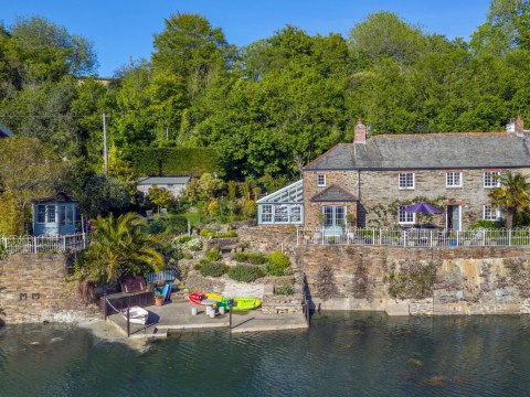 Idyllic property with waterfront views on the market for £1.6m
