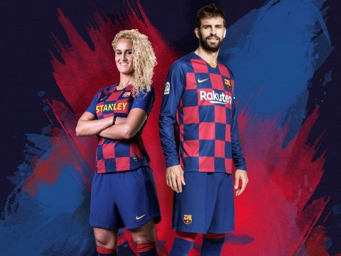 Nike reveal new Barcelona 'checkboard' kit for 2019-2020 season