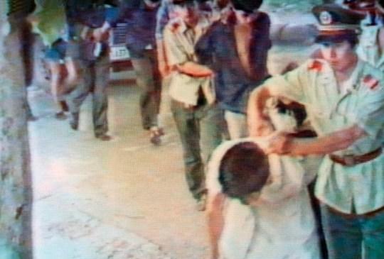Images du massacre de la place Tiananmen en 1989