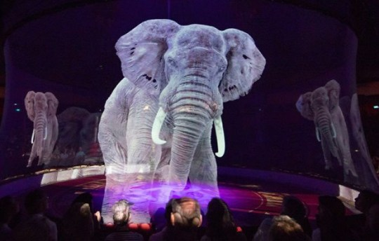 German Circus Uses Holograms Instead Of Live Animals For A Cruelty-Free Magical Experience Optoma impresses audiences with a holographic circus experience