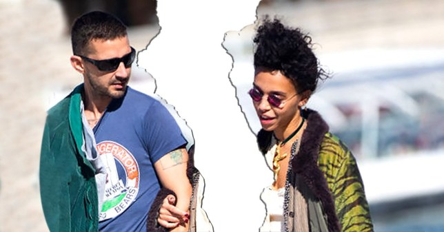 PARIS, FRANCE - SEPTEMBER 30: Shia LaBeouf and FKA Twigs are spotted on the Seine river on September 30, 2018 in Paris, France. (Photo by Melodie Jeng//GC Images)