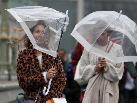 Met Office issues weather warning for heavy rain across London and southern England