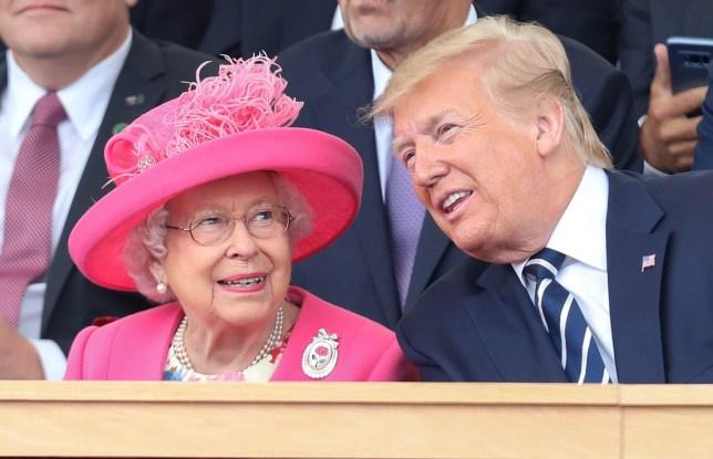 Donald Trump says meeting him was most fun Queen Elizabeth's had since 1994