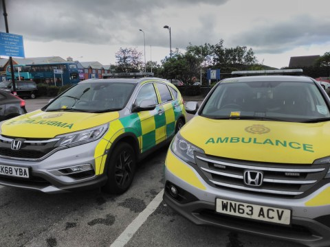Ambulances fined for not having parking ticket outside swimming pool