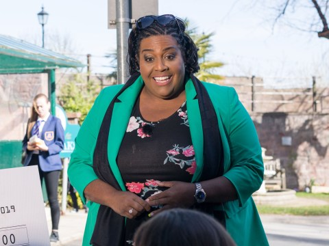 Alison Hammond says Hollyoaks is more terrifying than live TV as she makes her debut