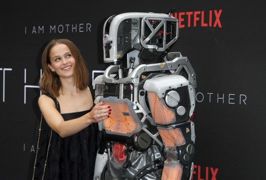 Netflix's I Am Mother robot makes eerie appearance at film's