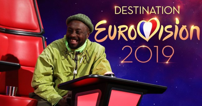 Will I Am wants The Voice to decide who represents UK at