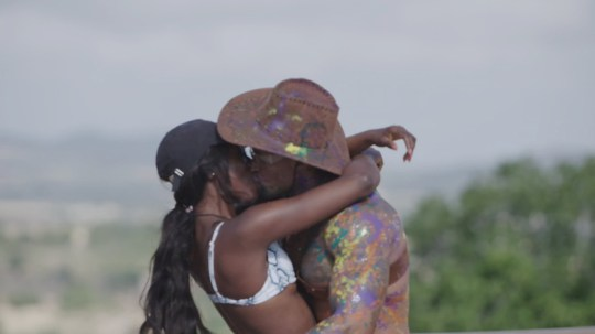 From ITV Studios Love Island: SR5: Ep5 on ITV2 Pictured: The Islanders take part in the challenge The Good, The Bad & The Sexy: Yewande and Michael kiss. This photograph is (C) ITV Plc and can only be reproduced for editorial purposes directly in connection with the programme or event mentioned above, or ITV plc. Once made available by ITV plc Picture Desk, this photograph can be reproduced once only up until the transmission [TX] date and no reproduction fee will be charged. Any subsequent usage may incur a fee. This photograph must not be manipulated [excluding basic cropping] in a manner which alters the visual appearance of the person photographed deemed detrimental or inappropriate by ITV plc Picture Desk. This photograph must not be syndicated to any other company, publication or website, or permanently archived, without the express written permission of ITV Picture Desk. Full Terms and conditions are available on the website www.itv.com/presscentre/itvpictures/terms For further information please contact: james.hilder@itv.com / 0207 157 3052