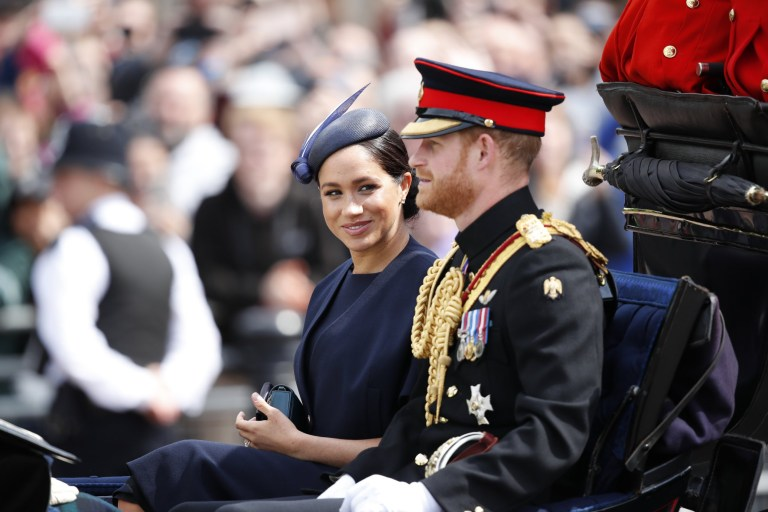 London - 08.06.19 Members of the Royal Family attend the annual Trooping the Colour ceremony marking the official birthday of Queen Elizabeth II Pic: ?? Max Mumby Max Mumby - +44 7970 799043 mumby@mac.com