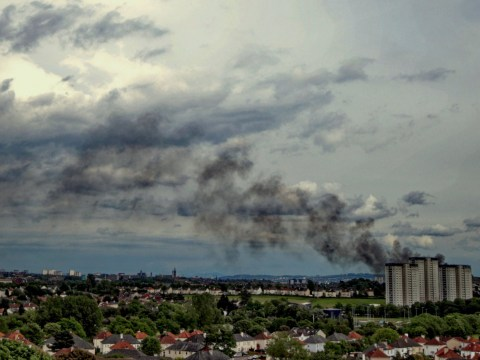 Huge fire at Glasgow former university campus being turned into £100,000,000 flats