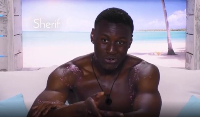 Picture: ITV Love Island's Anna and Sherif are made for each other as they reveal they both keep a list of people they've slept with on their phone
