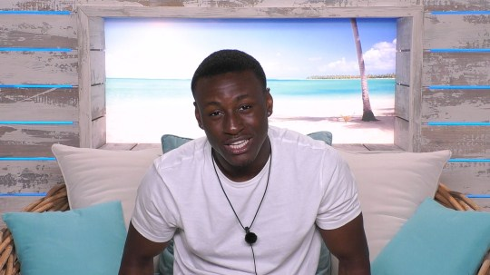 From ITV Studios Love Island: SR5: Ep6 on ITV2 Pictured: Sherif. This photograph is (C) ITV Plc and can only be reproduced for editorial purposes directly in connection with the programme or event mentioned above, or ITV plc. Once made available by ITV plc Picture Desk, this photograph can be reproduced once only up until the transmission [TX] date and no reproduction fee will be charged. Any subsequent usage may incur a fee. This photograph must not be manipulated [excluding basic cropping] in a manner which alters the visual appearance of the person photographed deemed detrimental or inappropriate by ITV plc Picture Desk. This photograph must not be syndicated to any other company, publication or website, or permanently archived, without the express written permission of ITV Picture Desk. Full Terms and conditions are available on the website www.itv.com/presscentre/itvpictures/terms For further information please contact: james.hilder@itv.com / 0207 157 3052
