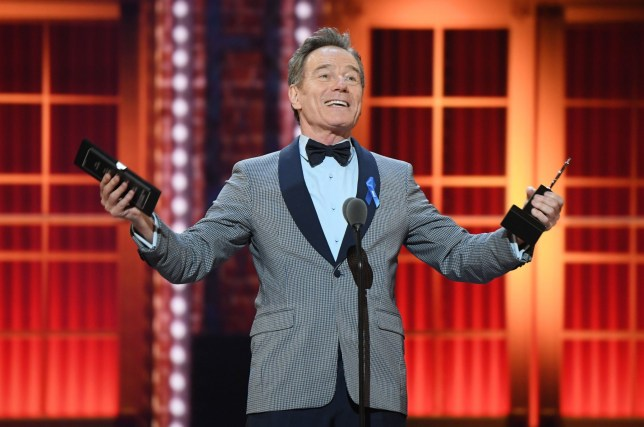 Mandatory Credit: Photo by Andrew H. Walker/REX (10286485ev) Bryan Cranston 73rd Annual Tony Awards, Show, Radio City Music Hall, New York, USA - 09 Jun 2019