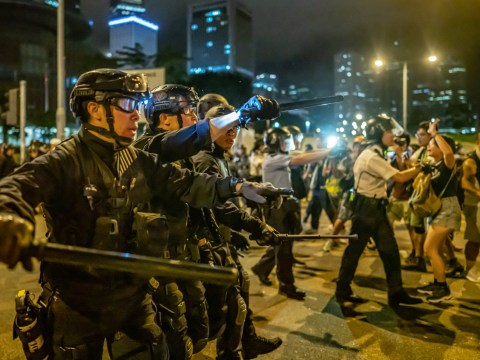 We will keep protesting in Hong Kong until the extradition bill is abolished
