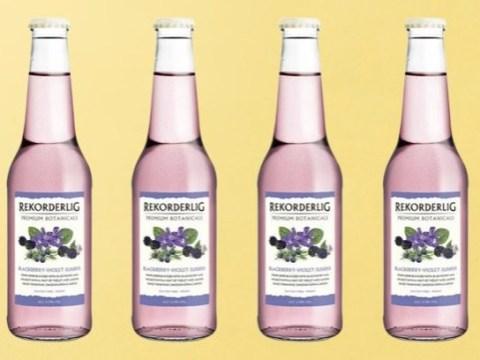 Tesco has just started selling Parma Violets Rekorderlig cider