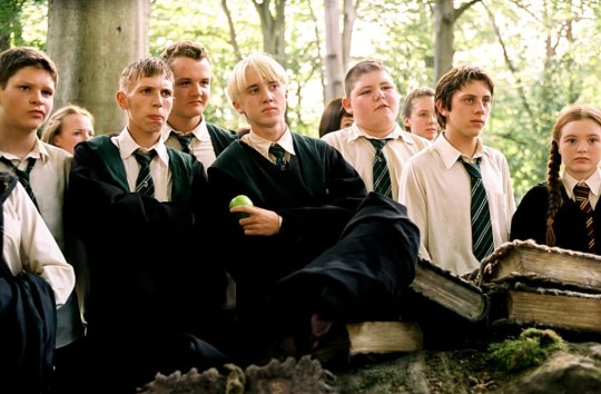 Tom Felton stars as Draco in Harry Potter prisoner of azkaban
