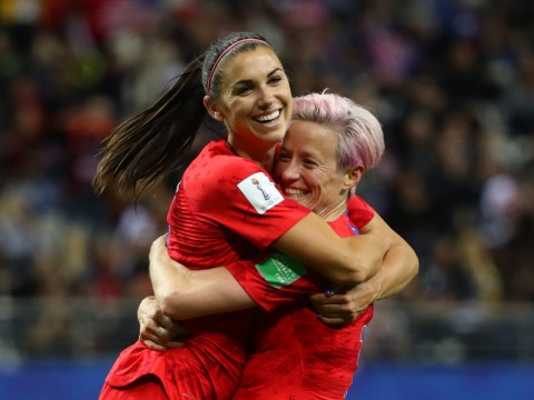 Alex Morgan and USA slammed for 'embarrassing' celebrations after 13-0 win vs Thailand in Women's World Cup