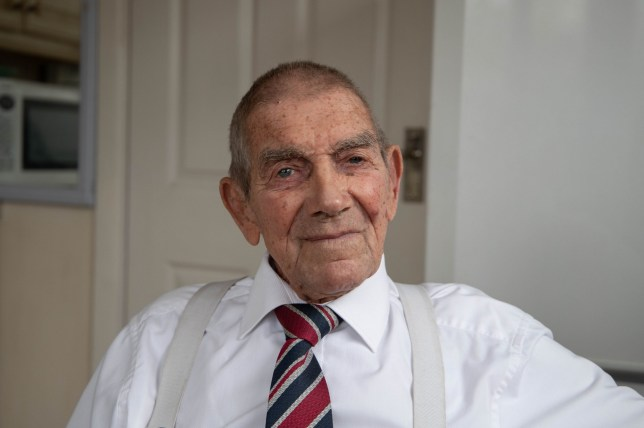 D-Day veteran Eddie Gaines