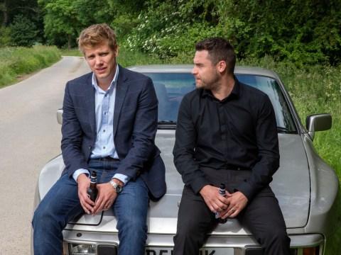 Emmerdale spoilers: Danny Miller reveals his reaction to Ryan Hawley's exit as Robert Sugden