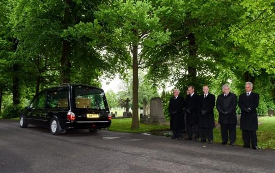 Steve Dymond funeral