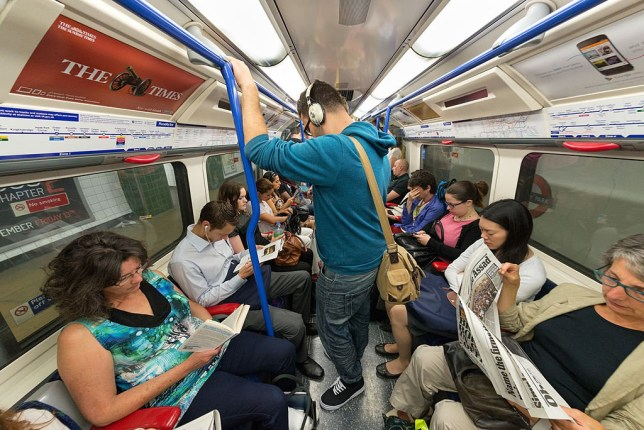 Tube passengers to be asked to do something very unnatural to make them happier