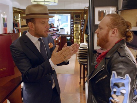 Keith Lemon and Matt Goss got paralytic drunk and ended up in tears behind-the-scenes of new show