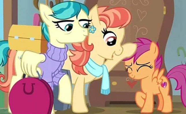 My Little Pony introducing lesbian couple Provider: Discovery Family