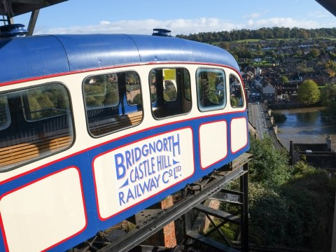 Britain's steepest cliff railway reinforced because passengers are fatter