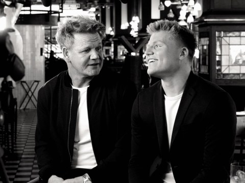 Gordon Ramsay poses with son Jack for powerful campaign encouraging dads to speak openly about male cancer