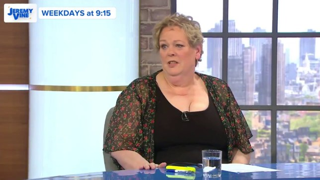 Anne Hegerty speaks out on?disgusting? Jeremy Vine tweet about her Videograb from Channel 5/JeremyVineOn5 https://twitter.com/JeremyVineOn5/status/1138104784903385090