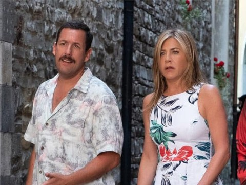 Jennifer Aniston and Adam Sandler's new comedy Murder Mystery breaks Netflix records