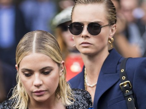 Cara Delevingne and Ashley Benson finally go Instagram official to celebrate Pride and we are living for it
