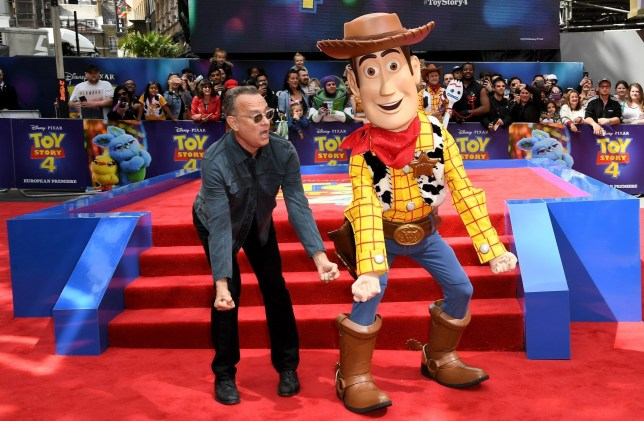 Tom Hanks 'Toy Story 4' film premiere, London, UK